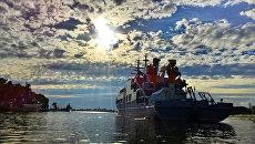 Поисково-спасательные учения под руководством Главного командования ВМФ на Тихоокеанском флоте. Архивное фото