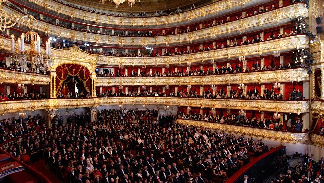 Открытие исторической сцены Большого театра. Архивное фото