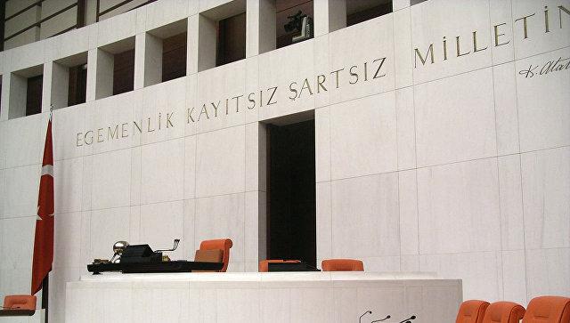 Парламент Турции принял предложение провести досрочные выборы