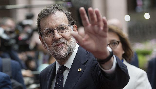 Председатель правительства Испании Мариано Рахой