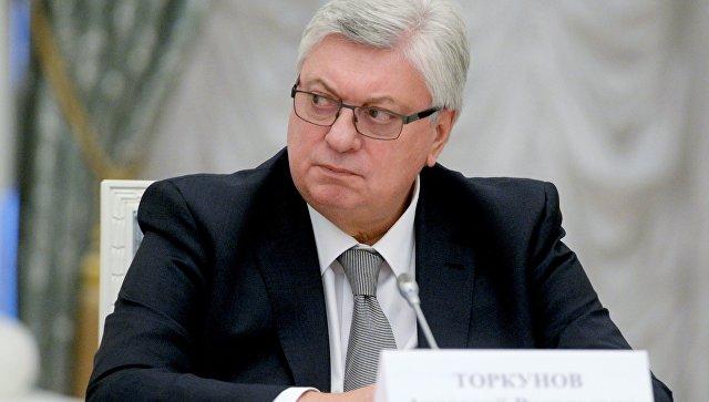 Ректор Московского государственного института международных отношений (МГИМО) Анатолий Торкунов