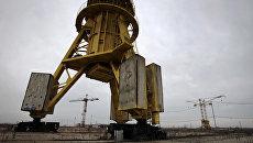 Стройплощадка АЭС Белене в Болгарии