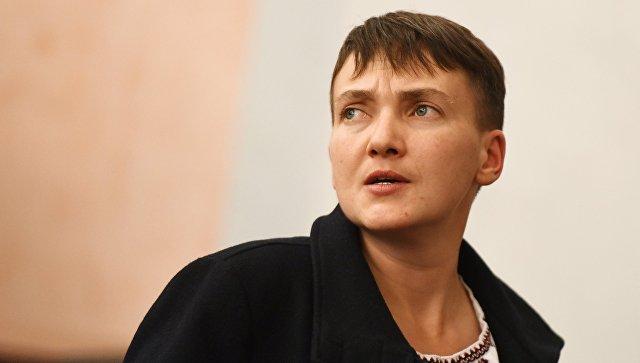 Партия Яценюка требует исключить Савченко из комитета по нацбезопасности