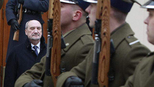 Министр обороны Польши Антони Мачеревич