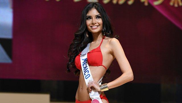 Участница конкурса Miss International 2016 из Мексики