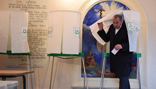 ВГрузии начались городские  выборы