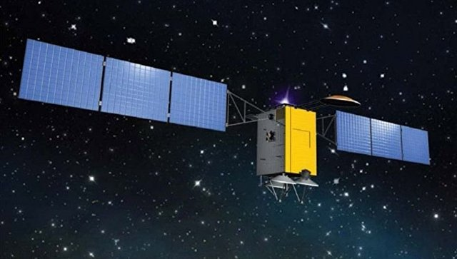 Рисунок украинского спутника Лыбидь (Lybed)