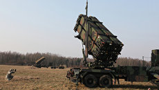 Американский зенитный ракетный комплекс Пэтриот в Польше. Архивное фото