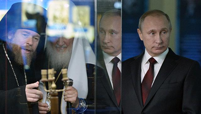 Путин посетил выставку «Россия— моя история» вМанеже