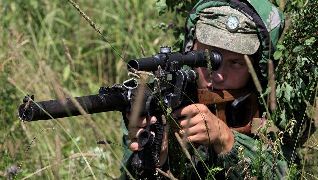 Лазутчики ЗВО проводят тактические учения вЛенинградской области