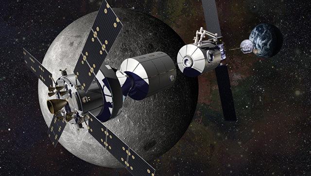 NASA начнет строить станцию наорбите Луны в 2023