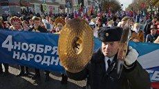 В Симферополе на празднование Дня народного единства собралось порядка 10 тысяч человек. И все они пришли совершенно добровольно, уверен глава Крыма Сергей Аксенов.
