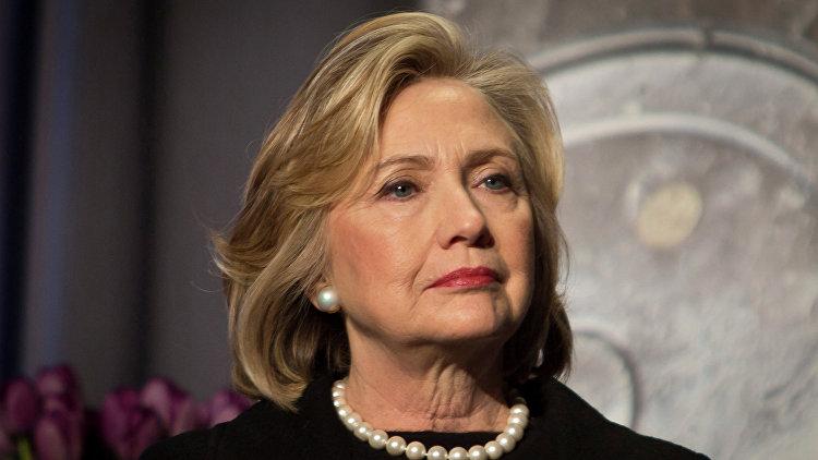 Депутаты предлагают ввести санкции против Хиллари Клинтон