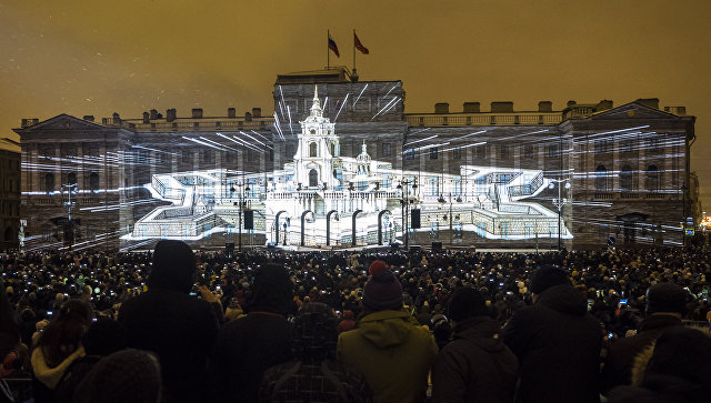 НаКрестовском острове вПетербурге пройдет Фестиваль света