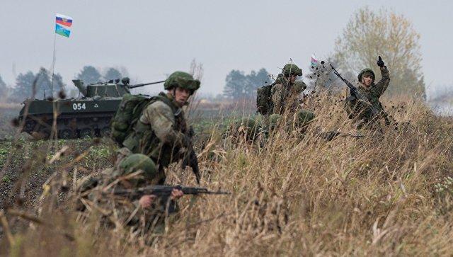 Десантные войска РФ, Беларуси иСербии отрабатывают борьбу стерроризмом