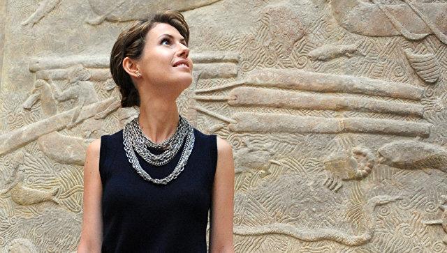 Первая леди Сирии Асма аль-Асад. Архивное фото