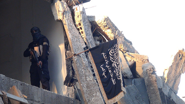 Боевик террористической группировки Джебхат ан-Нусра*. Архивное фото