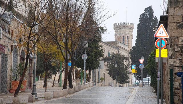 Сергиевское подворье в Иерусалиме. Архивное фото