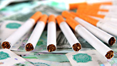 Продажа сигарет, архивное фото