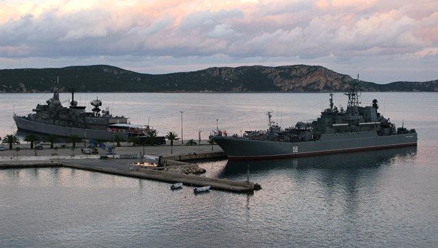 Обама потребует отГреции закрыть порты для кораблей ВМФРФ