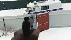 Стоп-кадр из видео, опубликованного в Periscope одного из подростков