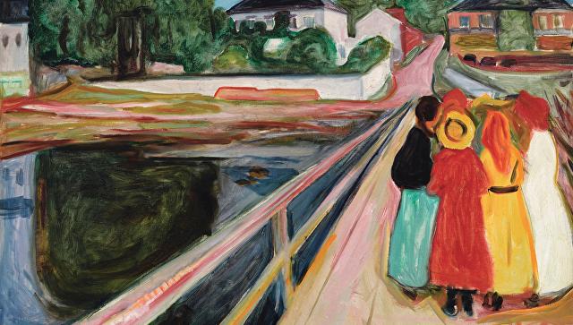 Картину Эдварда Мунка продали на аукционе в Нью-Йорке за $54.5 млн