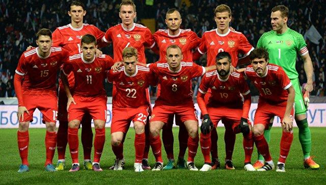 Стал известен соперник сборной России в матче плей-офф ЧМ-2018