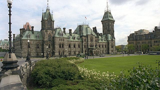 Здание Парламента Канады. Архивное фото