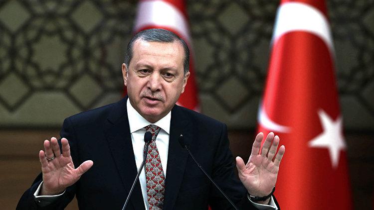 Эрдоган выразил соболезнования  в связи с авиакатастрофой в Ростове