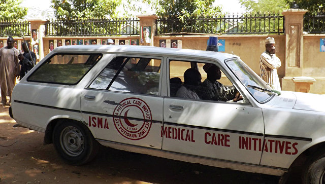 Машина скорой в Нигерии. Архивное фото