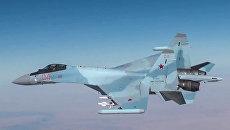 Самолет Су-30 ВКС РФ. Архивное фото