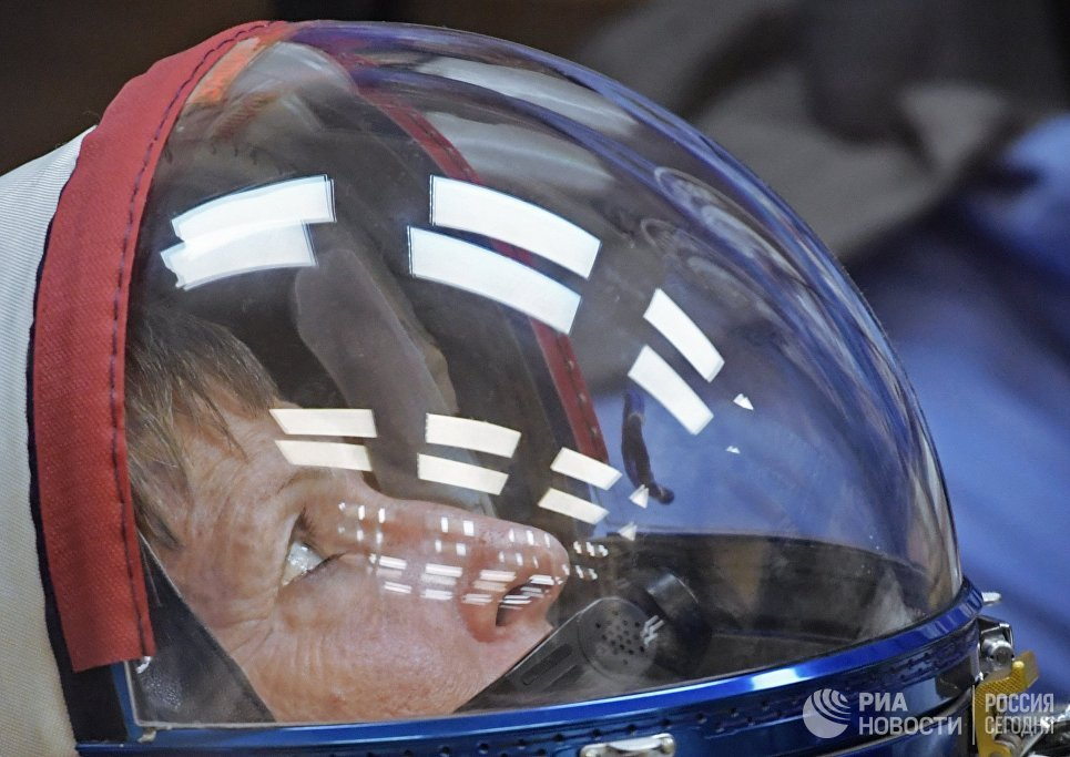 Участница основного экипажа 50/51-й экспедиции на Международную космическую станцию астронавт NASA Пегги Уитсон