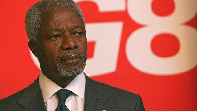 Скончался бывший генеральный секретарь ООН Кофи Аннан