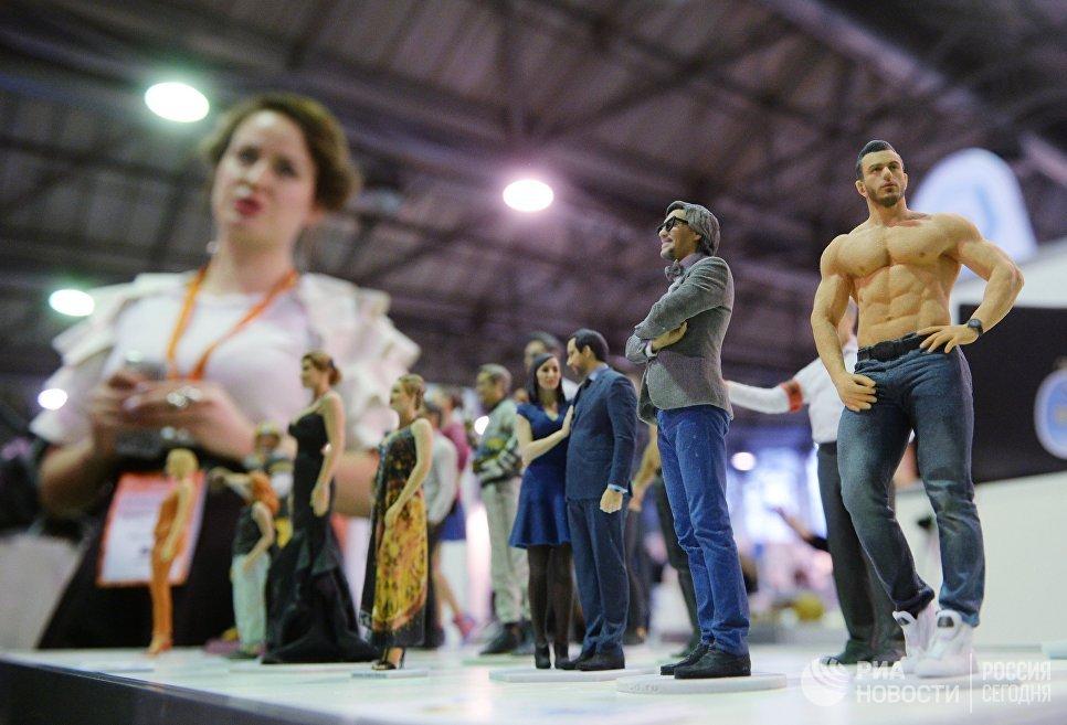 Стенд компании Cortus - участника выставки 3D Print Expo 2016 в Москве