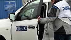 Наблюдатели ОБСЕ. Архивное фото.