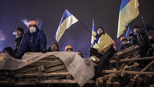 В Киеве начали извлекать из здания пули, выпущенные на Майдане в 2014 году