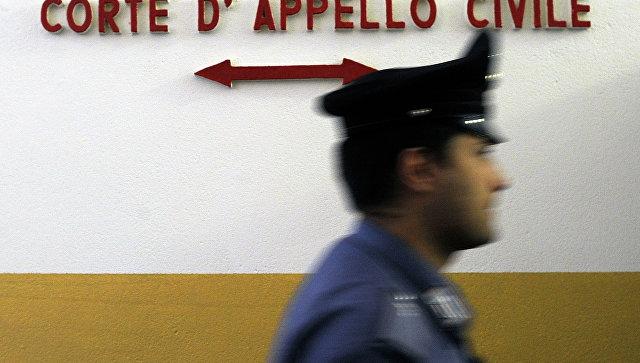 Полицейский в Италии. Архивное фото