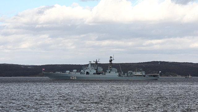 Корабль «Вице-адмирал Кулаков» прибыл вСевероморск