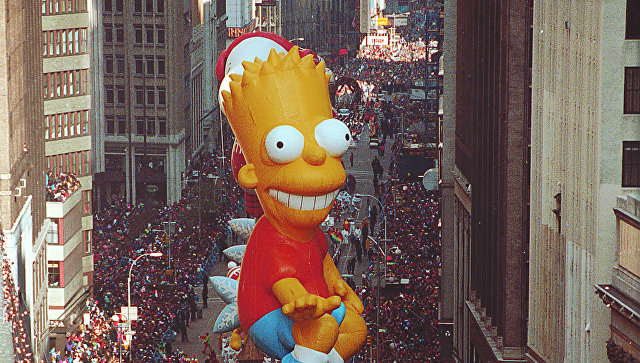 ВНью-Йорке прошел превосходный парад коДню Благодарения
