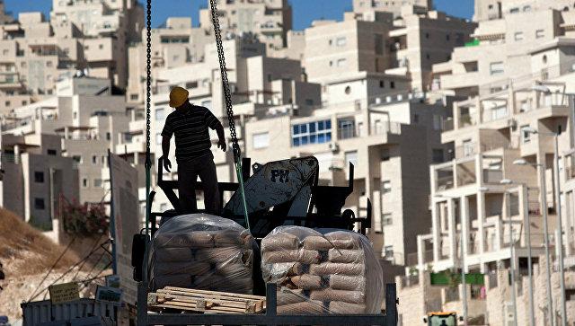Строительство в Восточном Иерусалиме, архивное фото.