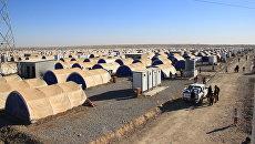 Лагерь беженцев из иракского Мосула. Архивное фото