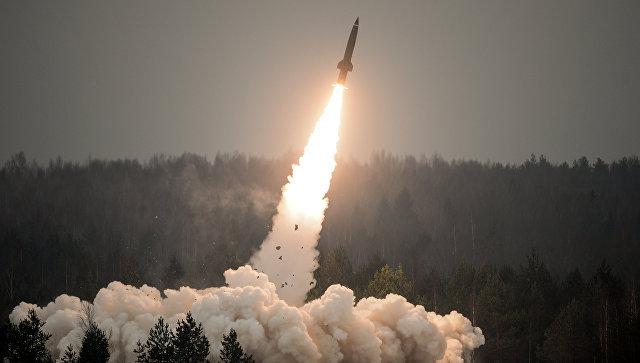 Пуск ракеты. Архивное