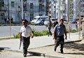 Полиция на улицах Душанбе после вооруженных инцидентов. 4 сентября 2015