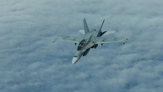 ВКанаде разбился истребитель ВВС