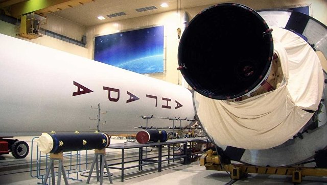 Ракета Ангара. Архивное фото