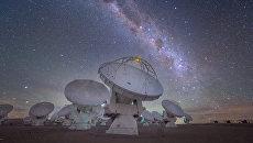 Млечный Путь сфотографированный в Чили