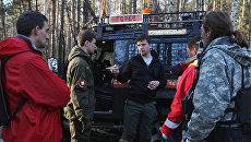 Поисково-спасательные работы отряда Лиза Алерт