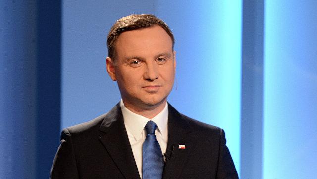 Глава Польши Анджей Дуда. Архивное фото