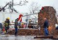 Последствия торнадо в Розали, штат Алабама