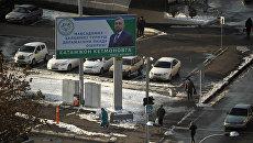 Предвыборная агитация в Узбекистане. Архивное фото